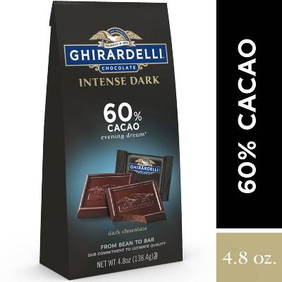 Ghirardelli Dark 60% Cacao Chocolate Squares - 4.8oz