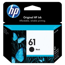 HP 61 Single Ink Cartridge - Black (CH561WN)