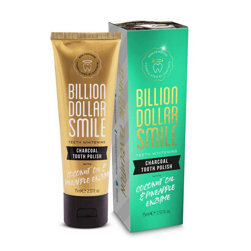 Image of Billion Dollar Smile Charcoal Tooth Polish