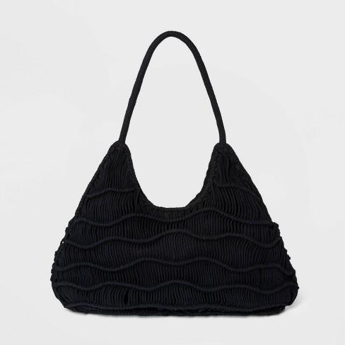 Zig Zag Soft Shoulder Handbag - Universal Thread™ - image 1 of 3