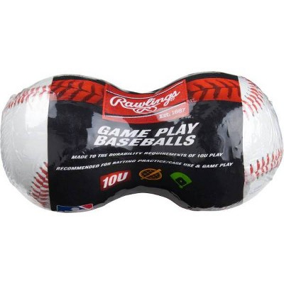 Rawlings 10 and Under Baseball - 2pk