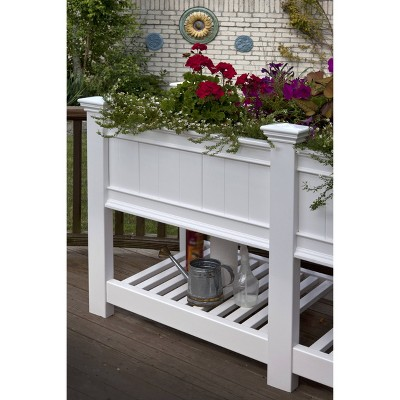 Cambridge Rectangular Extension Only - White - Vita