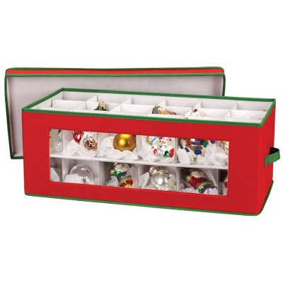 Household Essentials 36 Pc. Holiday Ornament Storage : Target