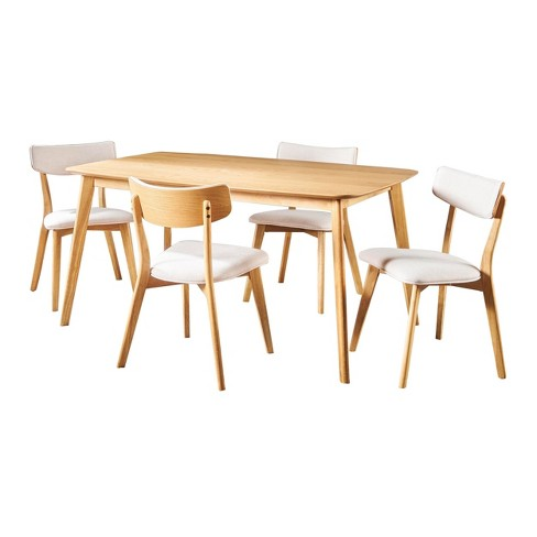 Alma 5pc Mid-Century Dining Set - Christopher Knight Home - image 1 of 4
