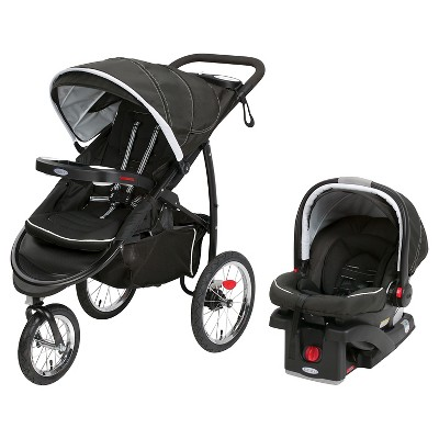 Graco® FastAction Jogger Click Connect XT Travel System - Coconut