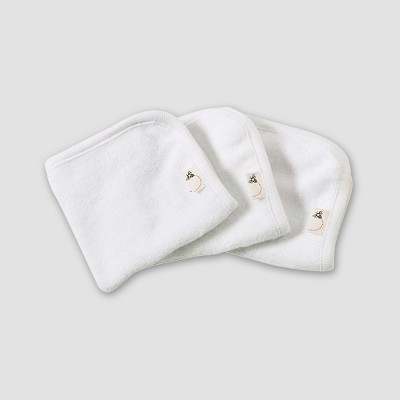 Burt's Bees Baby® Organic Cotton 3pk Washcloth Set - Cloud