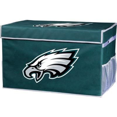 NFL Franklin Sports Philadelphia Eagles Collapsible Storage Footlocker Bins