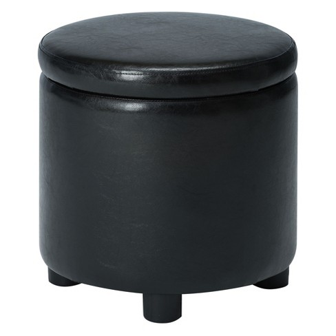 Johar Furniture Designs4Comfort Round Accent Storage Ottoman - image 1 of 4
