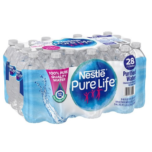 Nestle Pure Life Purified Water - 28pk/0.5 L Bottles - image 1 of 6