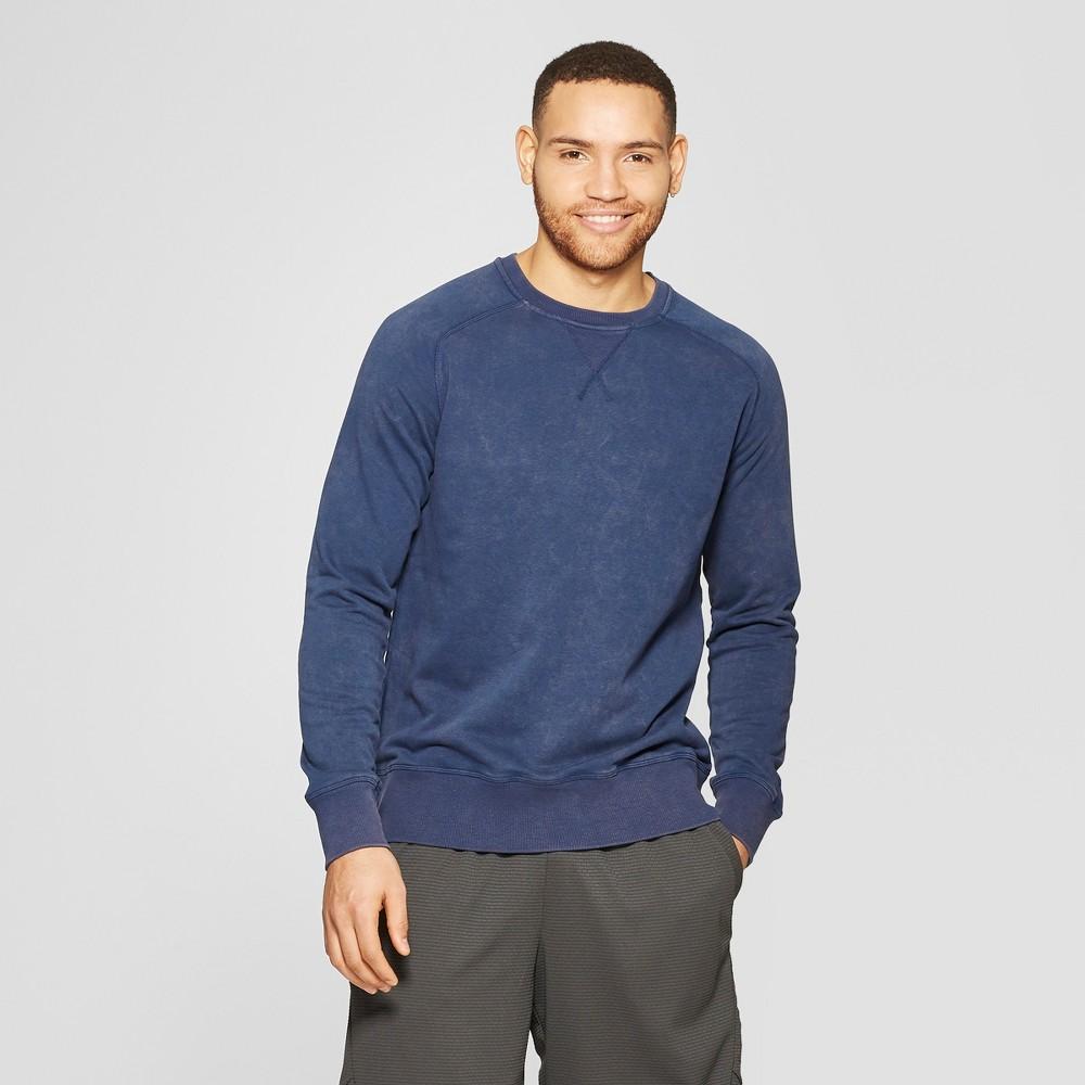 Men's Crewneck Sweatshirt - C9 Champion Estate Blue L