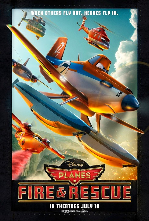 Planes: Fire & Rescue (dvd_video) - image 1 of 1