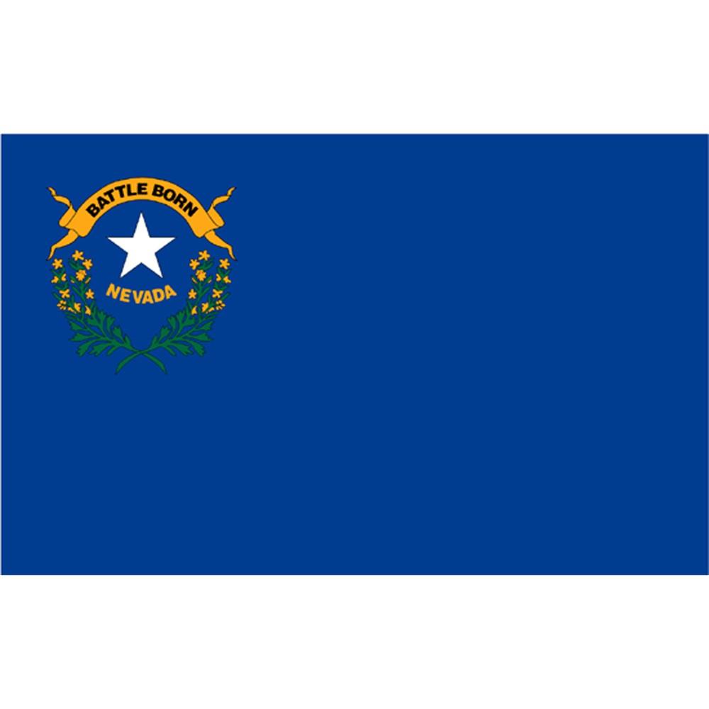 Image of Halloween Nevada State Flag - 3' x 5'