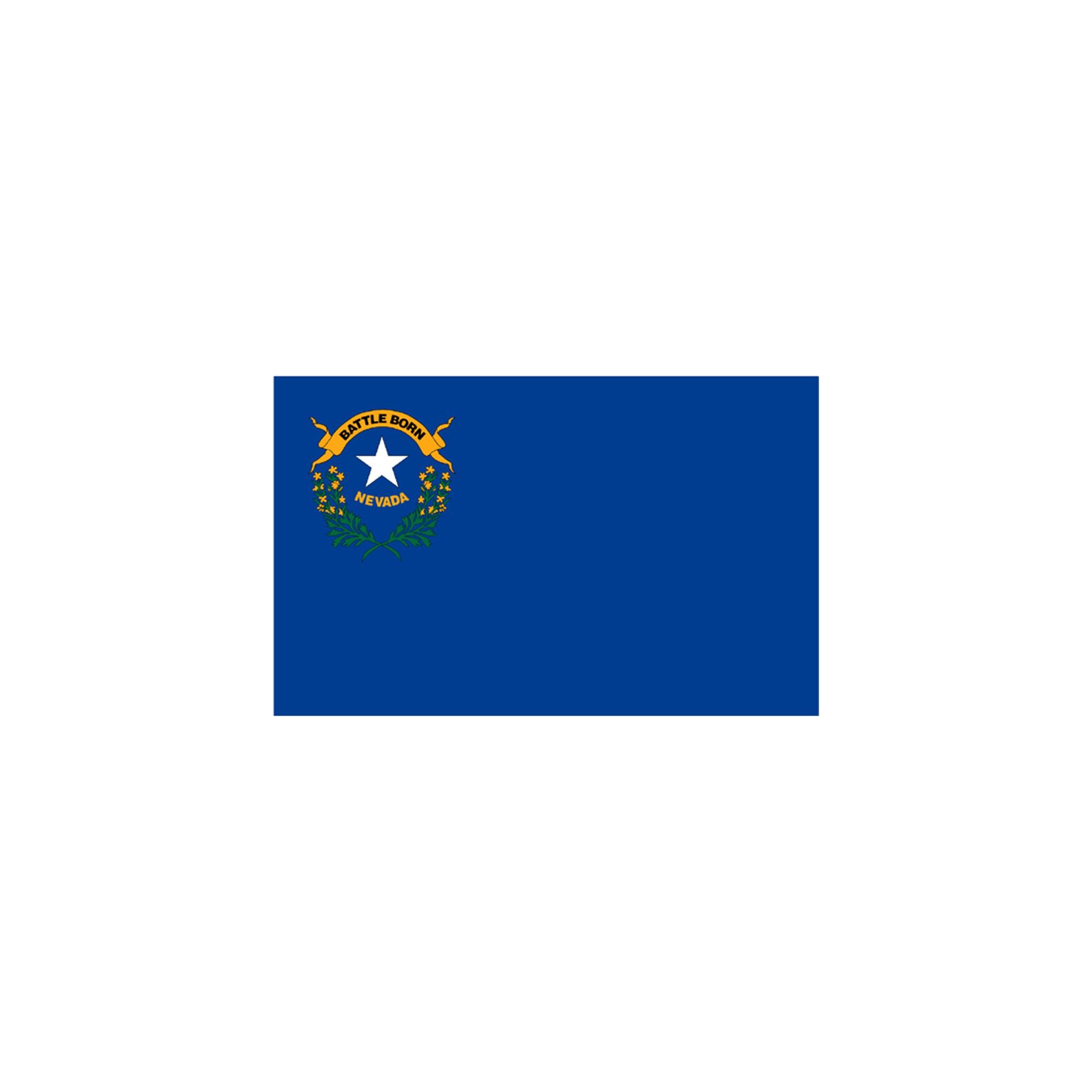 Halloween Nevada State Flag - 4' x 6'