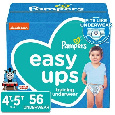 Pampers Easy Ups Boys' Training Pants Super Pack - 56ct