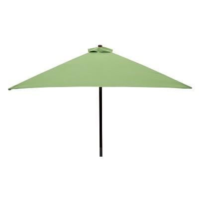 Classic Wood 6.5u0027 Square Patio Umbrella  Lime   Parasol : Target