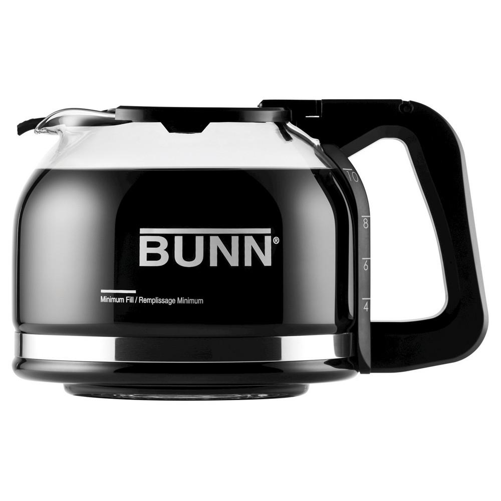 Bunn Pour-O-Matic 10 Cup Drip Free Carafe, Black 50972538