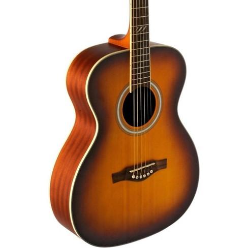 EKO TRI Series Auditorium Acoustic Guitar Honey Burst - image 1 of 6
