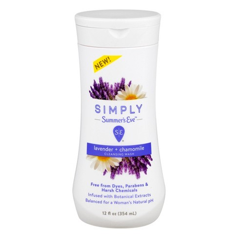 Simply Summer's Eve Lavender Chamomile Wash - 12oz - image 1 of 2