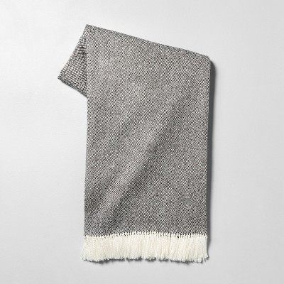 Throw Blanket Gray - Hearth & Hand™ with Magnolia