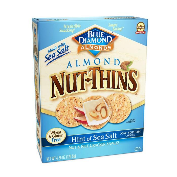 Blue Diamond Nut Thins Hint Of Sea Salt - 4.25oz - image 1 of 1
