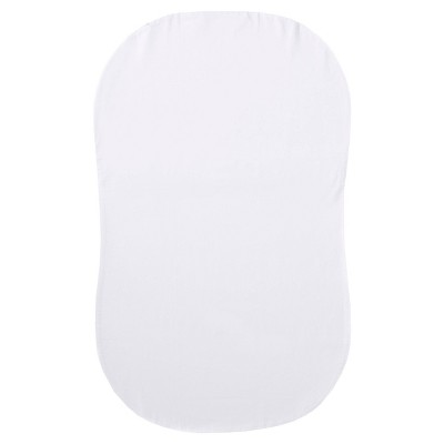 Halo Bassinest Organic Fitted Sheet - White