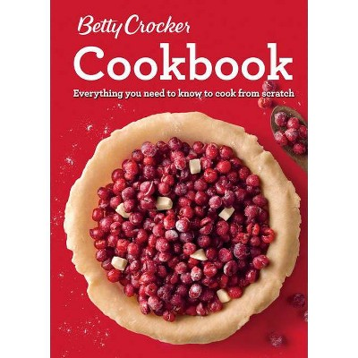Betty Crocker Cookbook, 12th Edition - (Spiral Bound)