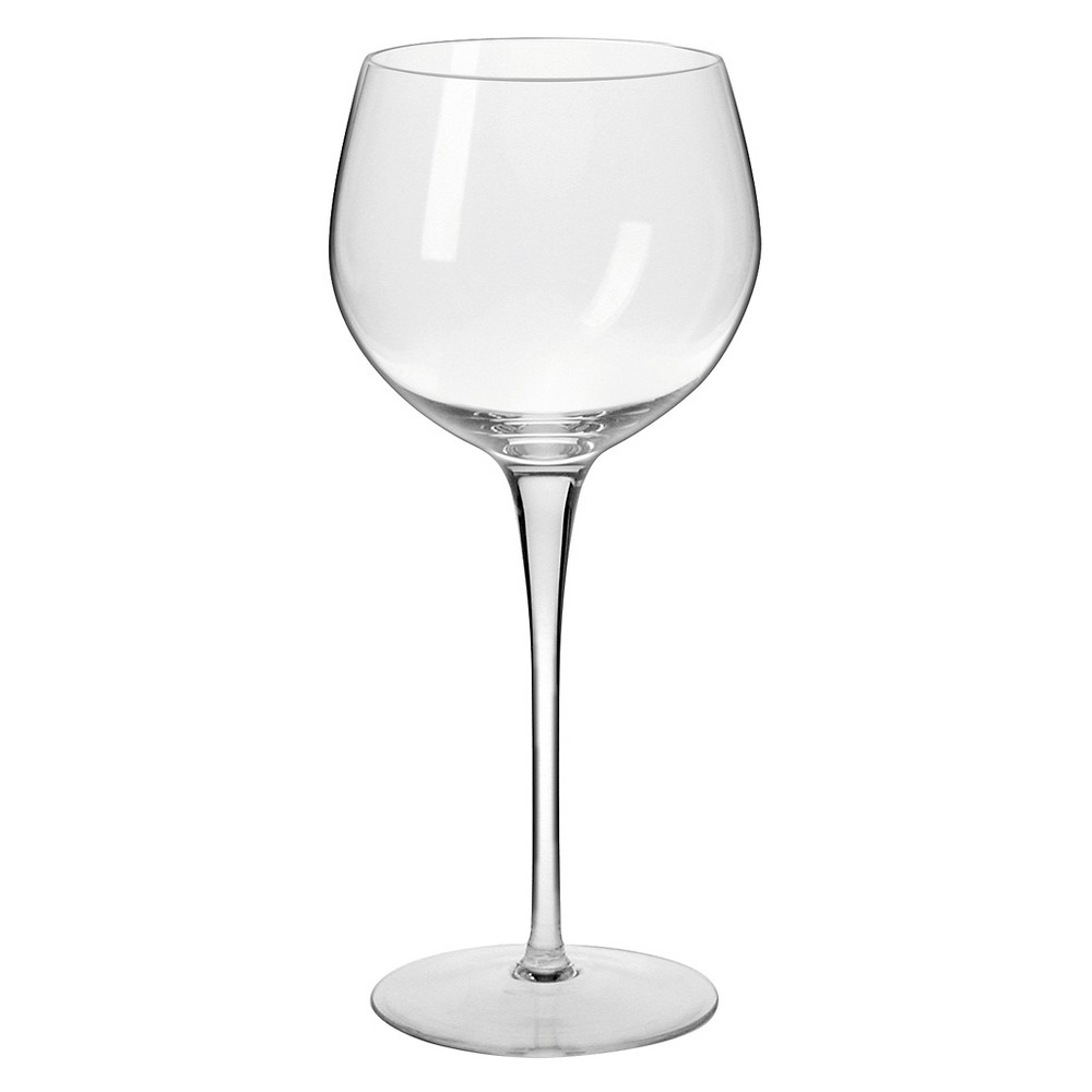 Image of Krosno Ava Wine Glasses Handmade 16oz. Set of 4, Clear