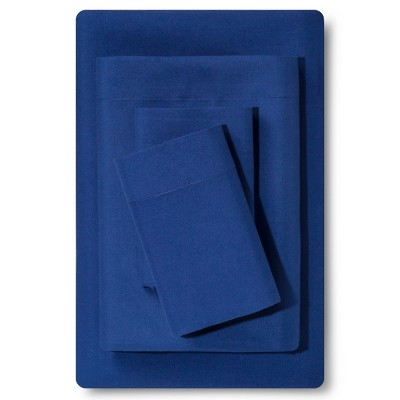 Queen Microfiber Sheet Set Sapphire - Room Essentials™
