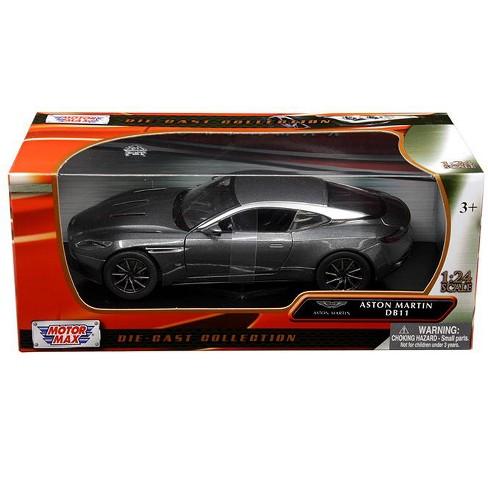 Aston Martin Db11 Silver 1 24 Diecast Model Car By Motormax Target
