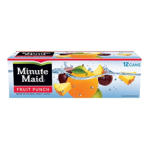 Minute Maid Fruit Punch - 12pk/12 fl oz Cans - image 1 of 1