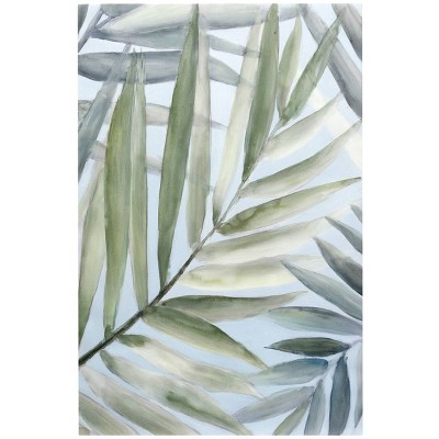 Tropical Getaway Hand Painted on Stretched Unframed Wall Canvas - StyleCraft