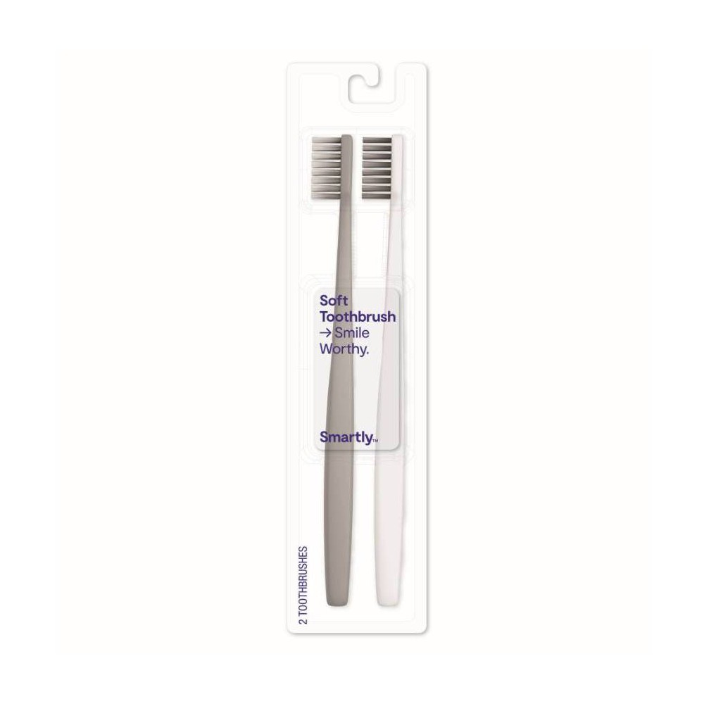 Image of Soft Toothbrush - 2ct - Smartly