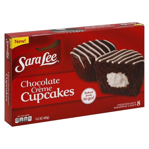 Sara Lee® Chocolate Crème Cupcakes - 8ct - image 1 of 1