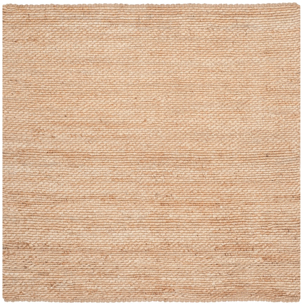 6'X6' Solid Woven Square Area Rug Light Gray - Safavieh