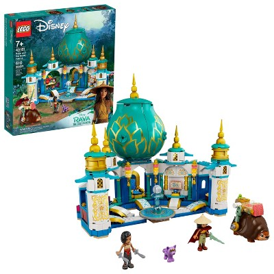 LEGO Disney Raya and the Heart Palace Building Toy 43181
