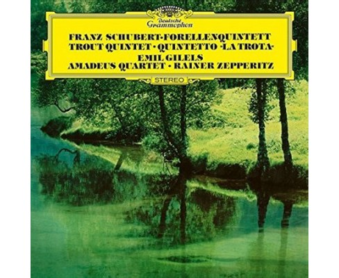 Emil Gilels - Piano Quintet In A D667:Trout/String (Vinyl) - image 1 of 1
