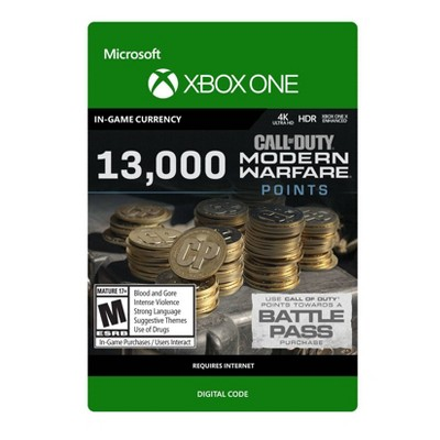 Call of Duty: Modern Warfare 13,000 Points - Xbox One (Digital)