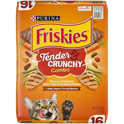 Cat Food: Friskies Tender & Crunchy Combo