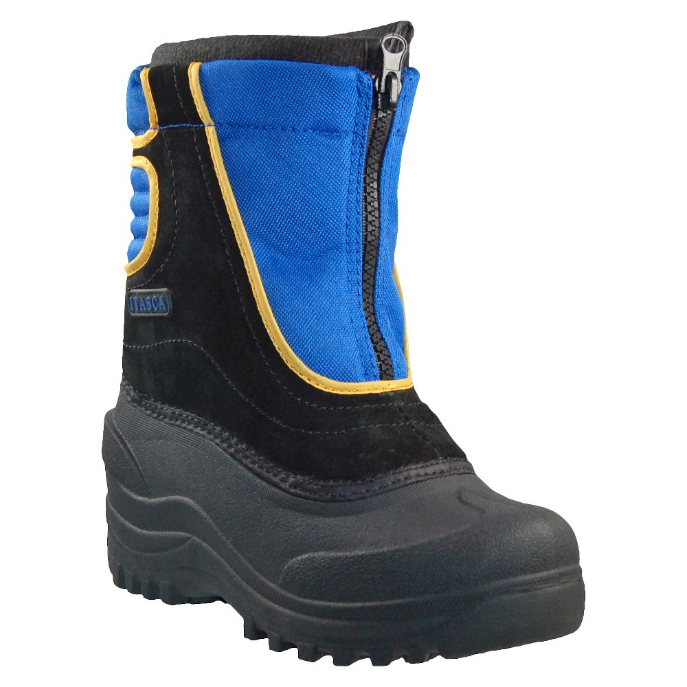 Boys' Itasca Snow Stomper Boots - Blue 4