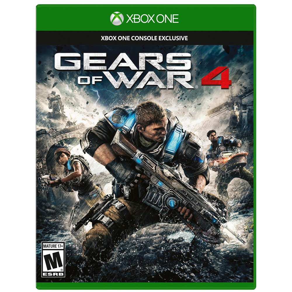 Gears of War 4 Xbox One, video games was $29.99 now $9.99 (67.0% off)