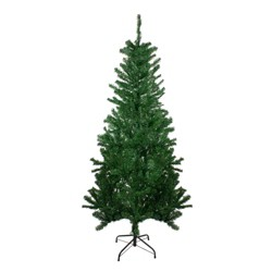Northlight 6' Unlit Artificial Christmas Tree Medium Mixed Green Pine