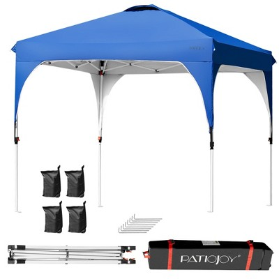 Costway 8x8 FT Pop up Canopy Tent Shelter Height Adjustable w/ Roller Bag