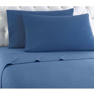 Shavel Micro Flannel Shavel Durable & High Quality Luxurious Sheet Set Including Flat Sheet, Fitted Sheet & Pillowcase