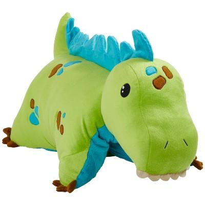 Green Dinosaur Pillow Pet