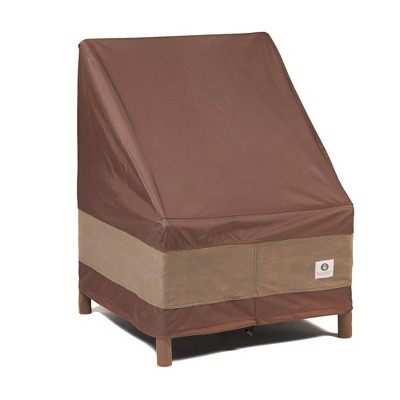 """28""""W Ultimate Stackable Patio Chair Cover Mochaccino - Classic Accessories"""