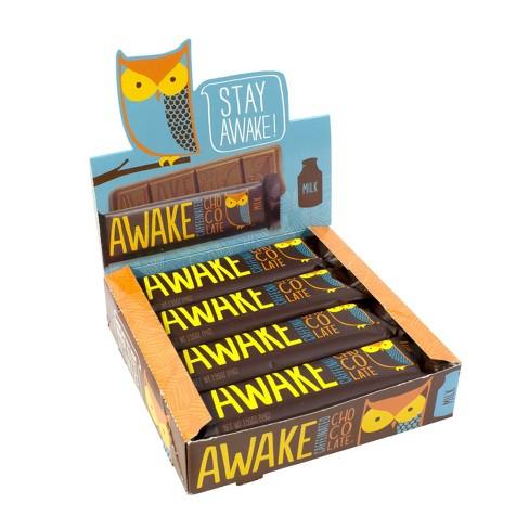 Awake Caffeinated Chocolate Bars - 12ct