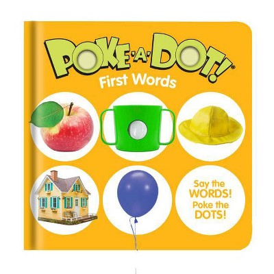 Poke-A-Dot: First Words - (Hardcover)