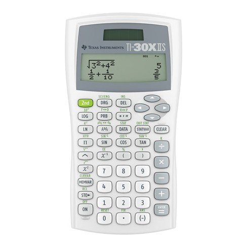 Texas Instruments Scientific Calculator White 30xiistbl1l1be