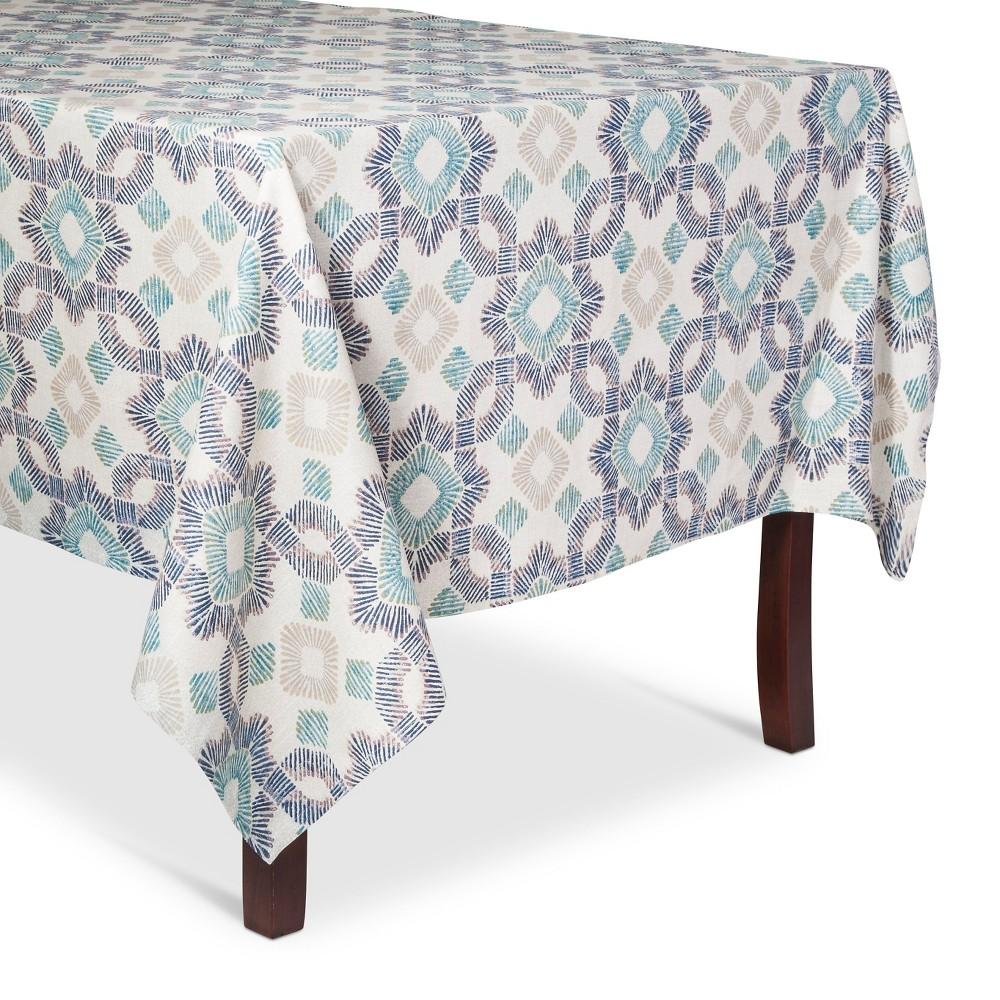 Blue Wave Tablecloth (60