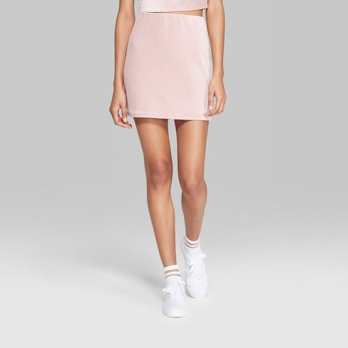 506707adc Women's Knit Corduroy Mini Skirt - Wild Fable™ : Target